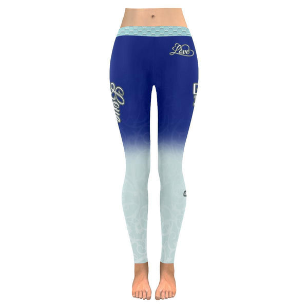 Love Basketball Go Minnesota Fan Gradient Color Dye Soft UPF40+ Womens Leggings-NeatFind.net