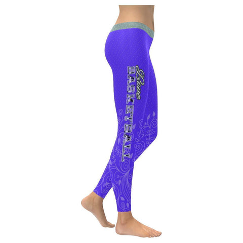 Love Basketball Go Sacramento Fan Diamond Plate Soft UPF40+ Womens Leggings-NeatFind.net