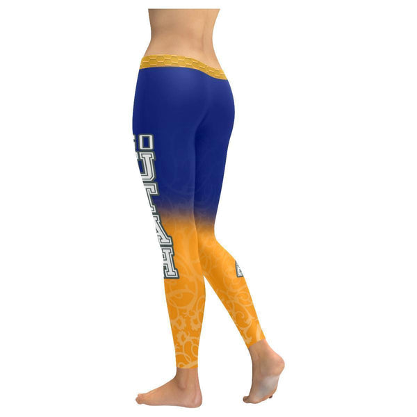 Love Basketball Go Utah Fan Gradient Color Dye Soft UPF40+ Womens Leggings-NeatFind.net