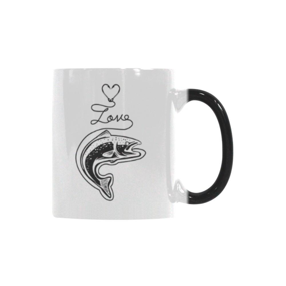 Love Fishing Color Changing/Morphing 11oz Mug-NeatFind.net