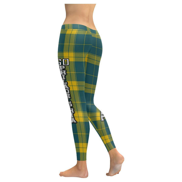 Love Football Go Philadelphia Fan Plaid Checkered Soft UPF40+ Womens Leggings-NeatFind.net