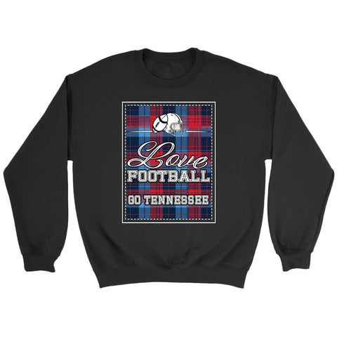 Sale Love Football Go Tennessee Fan Gift Ideas Checkered Plaid Cool Soft Cozy Sweater NeatFind