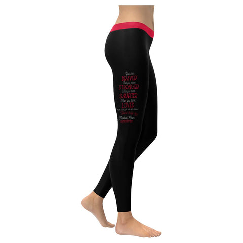 Love More Than You Ever Know Yours Truly Football Mom Gift Ideas Womens Leggings-NeatFind.net