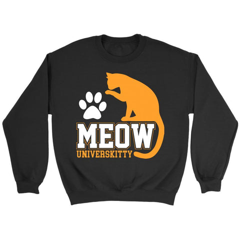Meow Universkitty Cute Funny Cat Lovers Kitty Obsessed Friend Gift Ideas Sweater-NeatFind.net