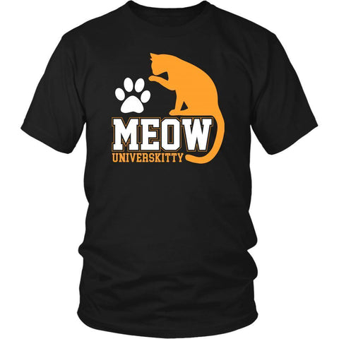 Meow Universkitty Cute Funny Cat Lovers Kitty Obsessed Friend Gift Ideas TShirt-NeatFind.net