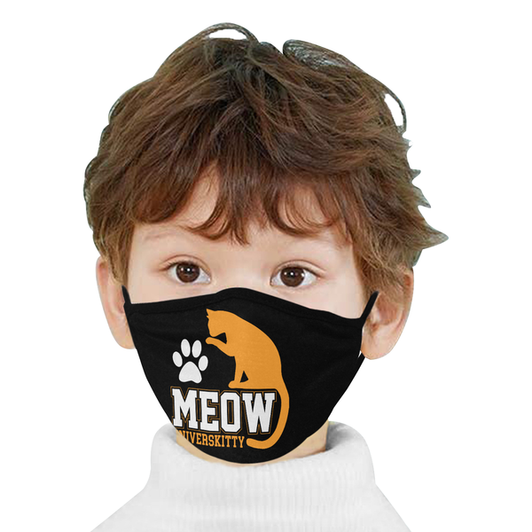 Meow Universkitty Funny Washable Reusable Cloth Face Mask With Filter Pocket-Face Mask-NeatFind.net