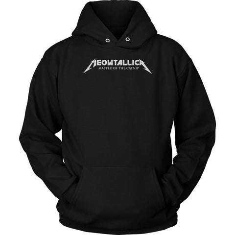 Meowtallica Master Of The Catnip Cute Funny Cat Lovers Kitty Gift Ideas Hoodie-NeatFind.net