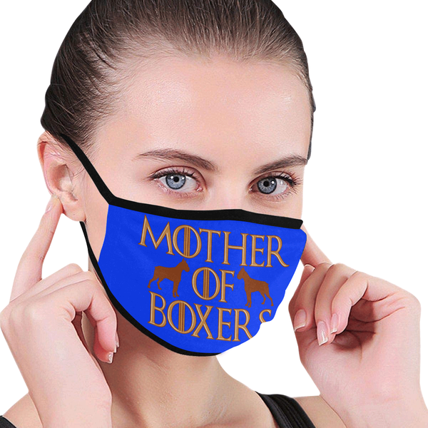 Mother Of Boxers Dog Washable Reusable Cloth Face Mask With Filter Pocket-Face Mask-NeatFind.net
