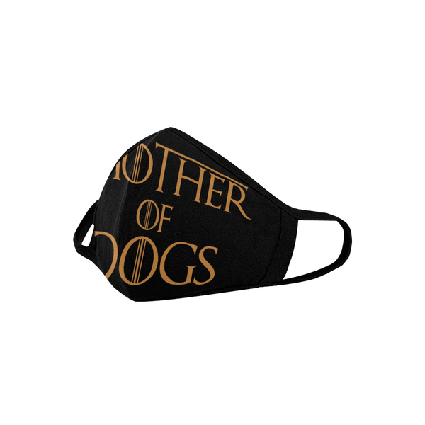 Mother Of Dogs Funny Washable Reusable Cloth Face Mask With Filter Pocket-Face Mask-NeatFind.net