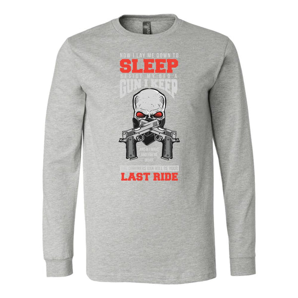 Now I Lay Me Down To Sleep Beside My Bed A Gun I Keep 2nd Amendment T-Shirt For Men & Women-NeatFind.net
