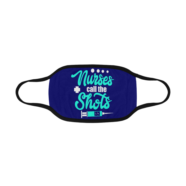 Nurses Call The Shots Washable Reusable Cloth Face Mask With Filter Pocket-Face Mask-NeatFind.net