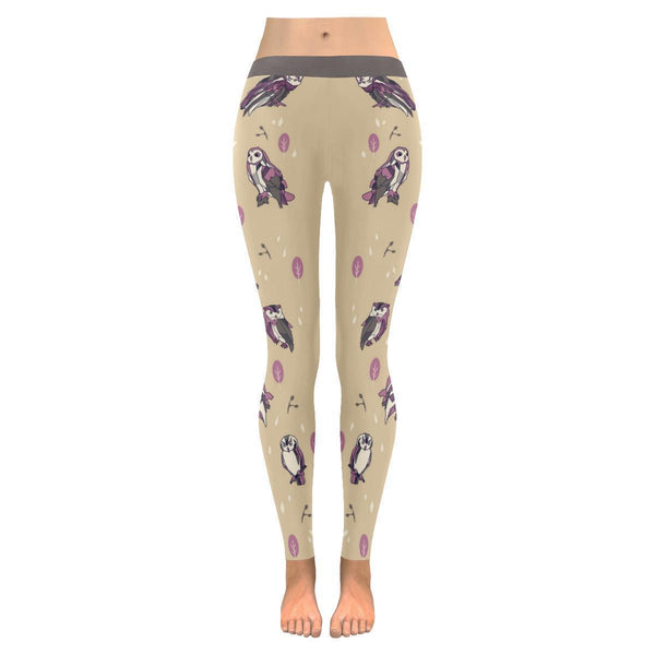 Owl Low Rise Leggings For Women (3 colors)-NeatFind.net
