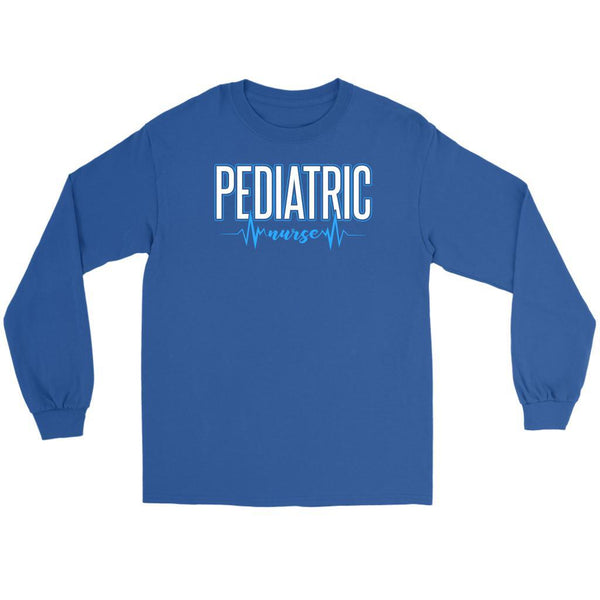 Pediatric Nurse Awesome Best Cool Unique Cute Nurses Week Gifts Idea Long Sleeve-NeatFind.net