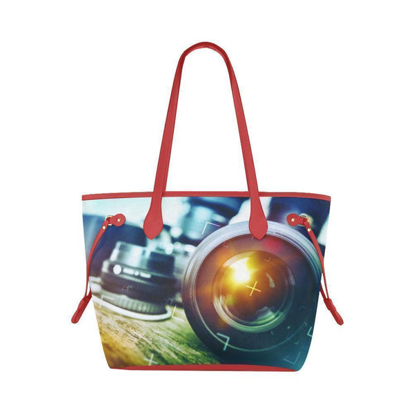 Photography #2 Water Resistant Canvas Tote Bags (4 colors)-NeatFind.net