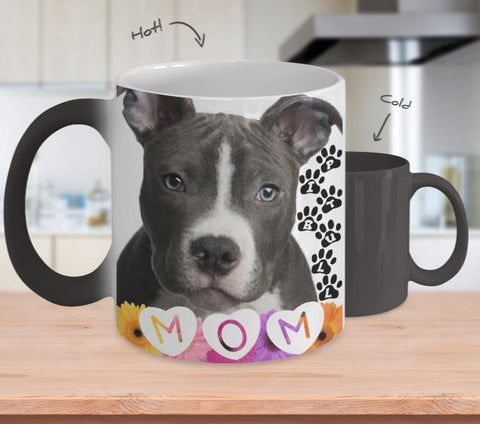 Pitbull Mom Mug 11oz-NeatFind.net