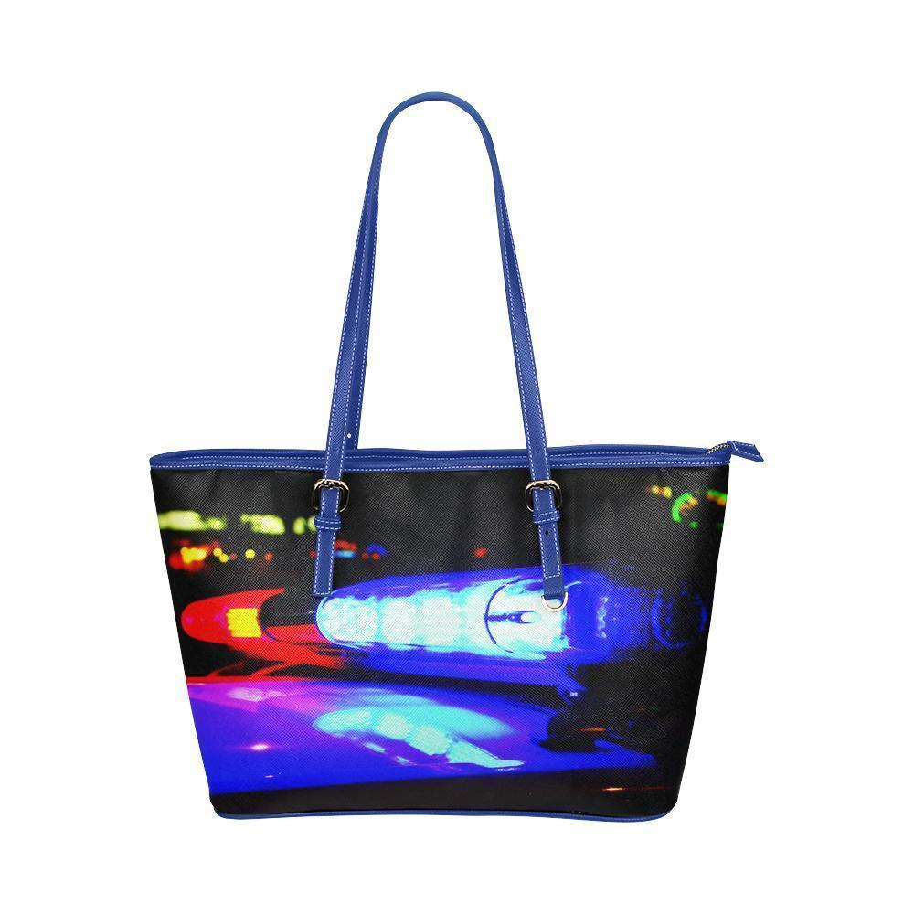 Police Water Resistant Small Leather Tote Bags (5 colors)-NeatFind.net
