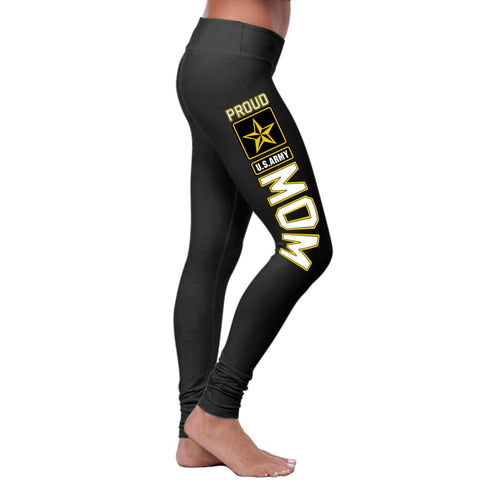 Proud U.S.Army MOM 2.0 Leggings-NeatFind.net