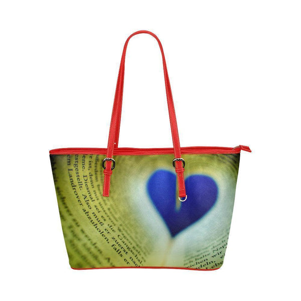 Reading #4 Water Resistant Leather Tote Bags (5 colors)-NeatFind.net