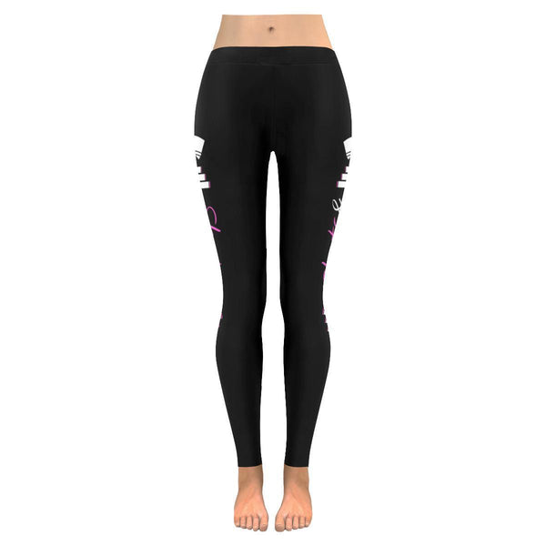 Shots & Squats Cute Crossfit Nurse UPF40+ Moisture Wicking Soft Womens Leggings-NeatFind.net