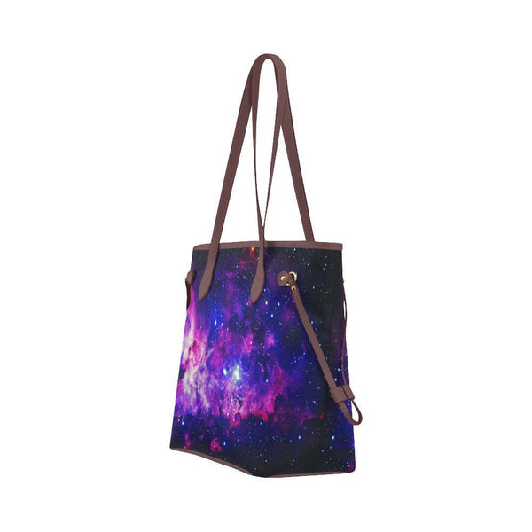 Space Water Resistant Canvas Tote Bags (4 colors)-NeatFind.net