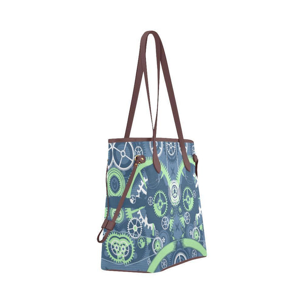 Steampunk #2 Water Resistant Canvas Tote Bags (4 colors)-NeatFind.net