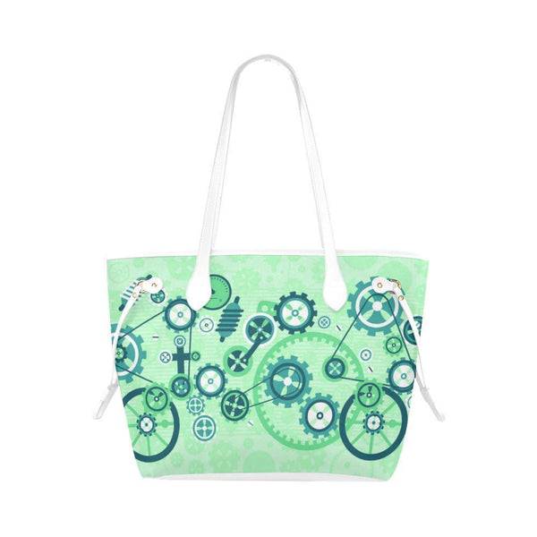 Steampunk #3 Water Resistant Canvas Tote Bags (4 colors)-NeatFind.net