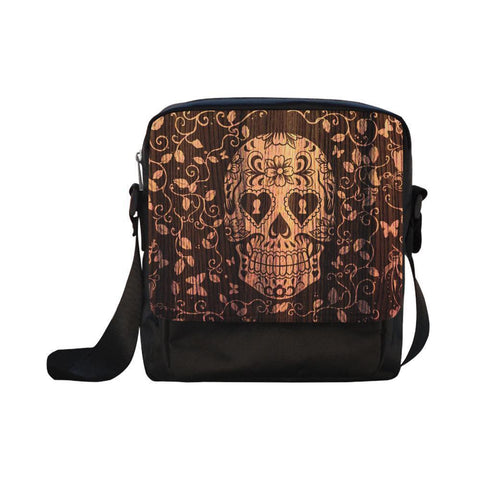 Sugar Skull #1-#5 CrossBody Water Resistant Nylon Bags For Women (5 styles)-NeatFind.net