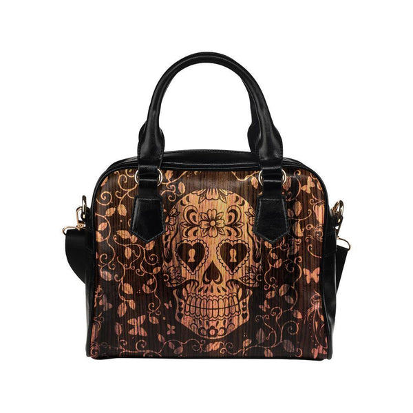 Sugar Skull #1 Shoulder Handbag For Women-NeatFind.net