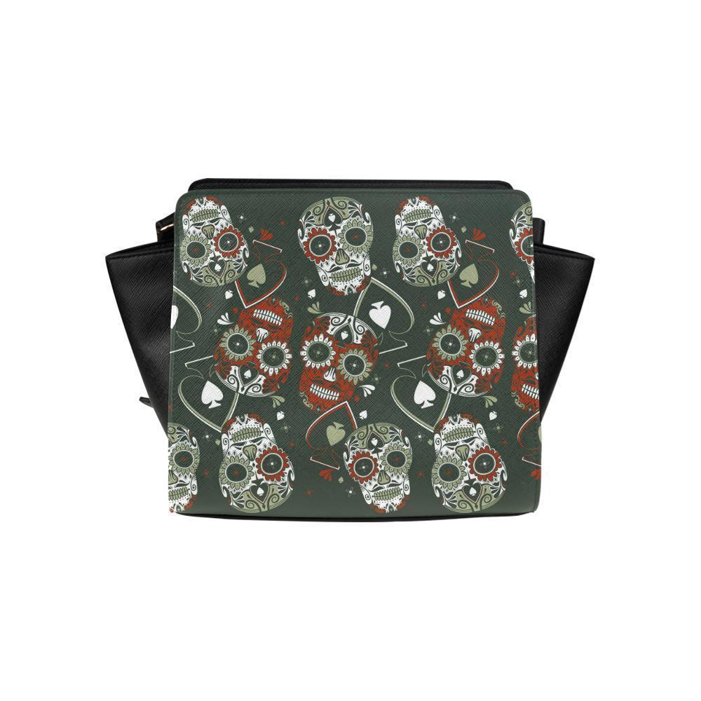 Sugar Skull #19 Satchel Bag For Women-NeatFind.net
