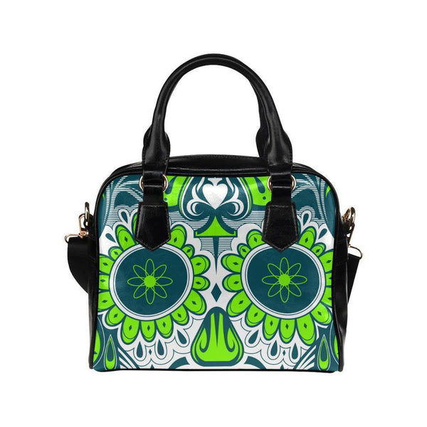 Sugar Skull #20 Shoulder Handbag For Women-NeatFind.net