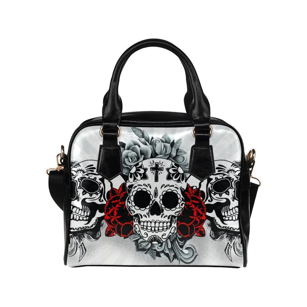 Sugar Skull #6-#10 Shoulder Handbags For Women (5 styles)-NeatFind.net