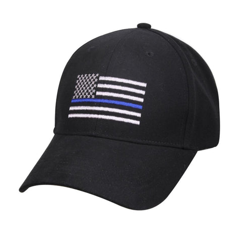 Thin Blue Line Adjustable Baseball Cap-NeatFind.net