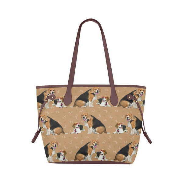 Water Resistant Canvas Beagle Tote Bags (4 colors)-NeatFind.net
