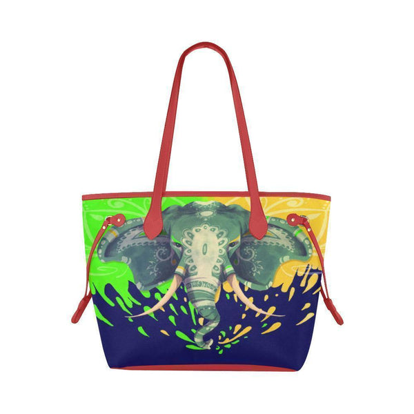 Water Resistant Canvas Elephant Tote Bags (4 colors)-NeatFind.net