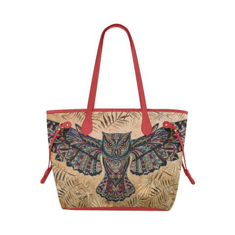 Water Resistant Canvas Fly Owl Tote Bags (4 colors)-NeatFind.net