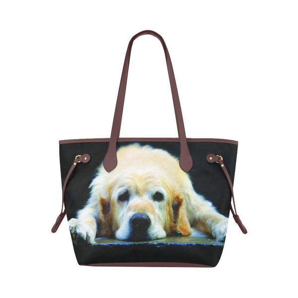 Water Resistant Canvas Golden Retriever Tote Bags (4 colors)-NeatFind.net