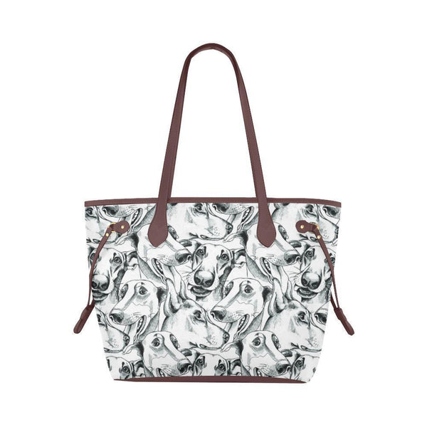 Water Resistant Canvas Greyhound Tote Bags (4 colors)-NeatFind.net
