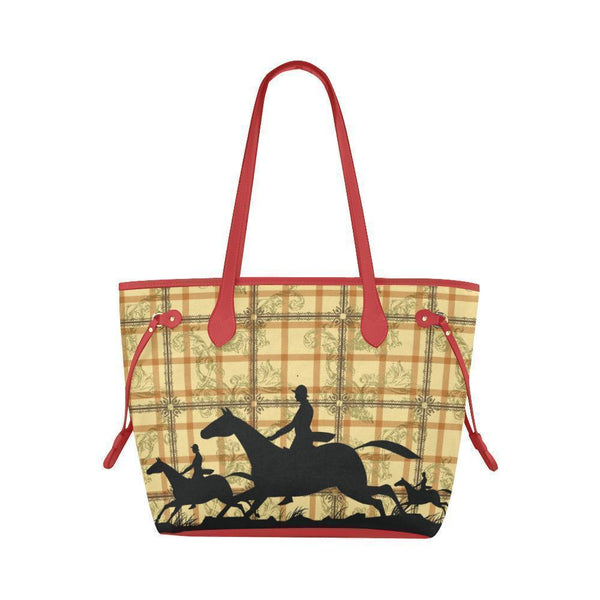 Water Resistant Canvas Horse Tote Bags (4 colors)-NeatFind.net