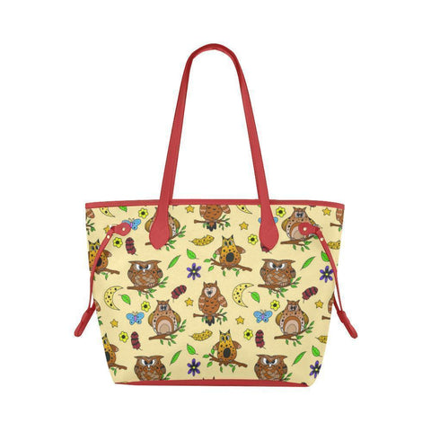 Water Resistant Canvas Multi Owls Tote Bags (4 colors)-NeatFind.net
