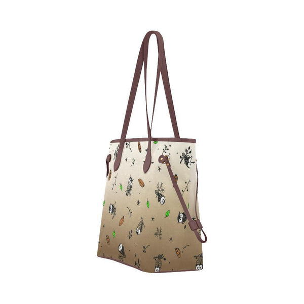 Water Resistant Canvas Owl Pattern Tote Bags (4 colors)-NeatFind.net