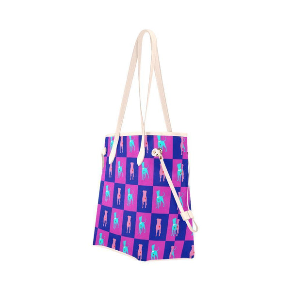 Water Resistant Canvas PitBull Tote Bags (4 colors)-NeatFind.net