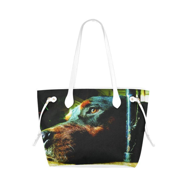 Water Resistant Canvas Rottweilers Tote Bags (4 colors)-NeatFind.net