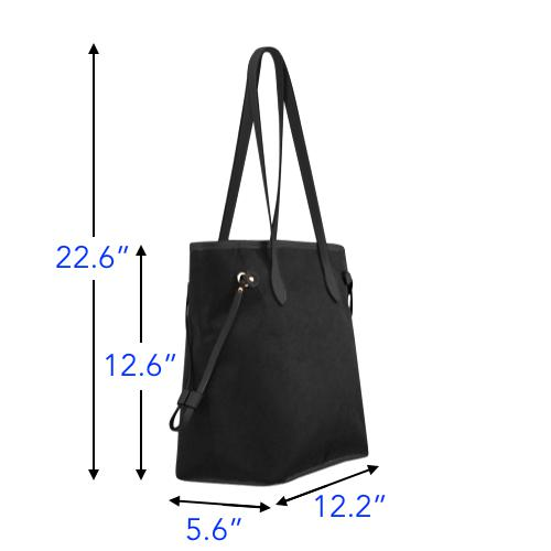 Water Resistant Canvas Scuba Tote Bags (4 colors)-NeatFind.net