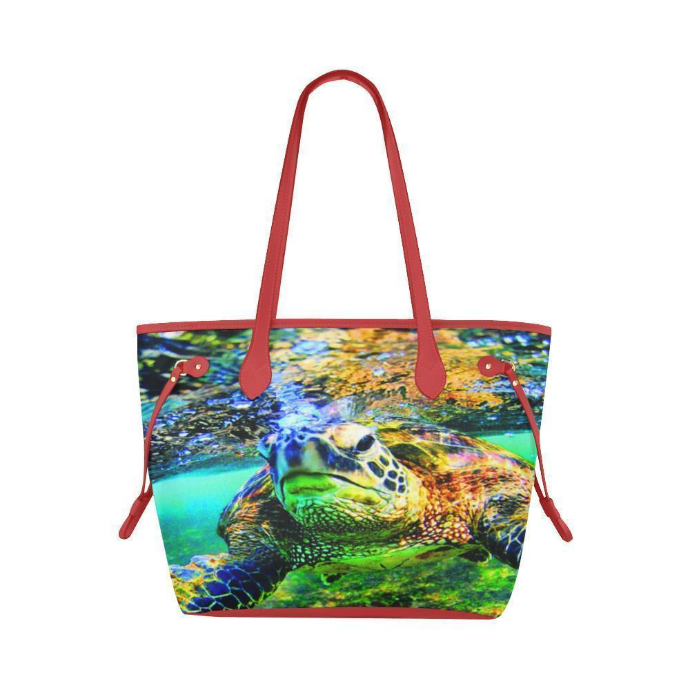 Water Resistant Canvas Turtle Tote Bags (4 colors)-NeatFind.net