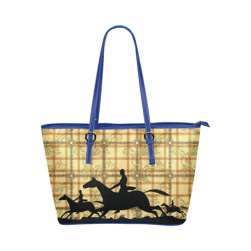 Water Resistant Small Leather Horse Tote Bags (5 colors)-NeatFind.net