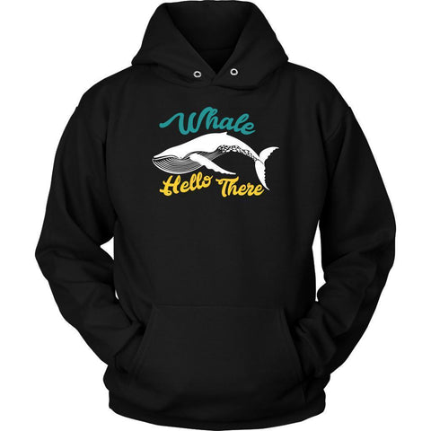 Whale Hello There Oceanography Funny Marine Science Biologist Gift Ideas Hoodie-NeatFind.net
