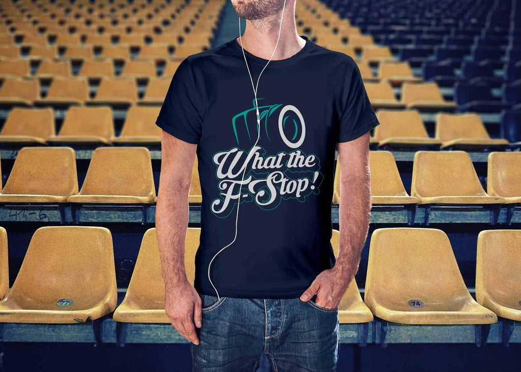 624294a5 ... What The F-Stop! Awesome Cool Photography Funny Photographer Gifts  Ideas TShirt-NeatFind ...