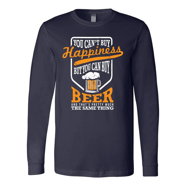 You Can't Buy Happiness But You Can Buy Beer T-Shirt For Men & Women-NeatFind.net