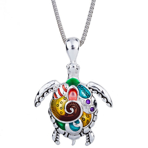 Collier Tortue - Colorfull