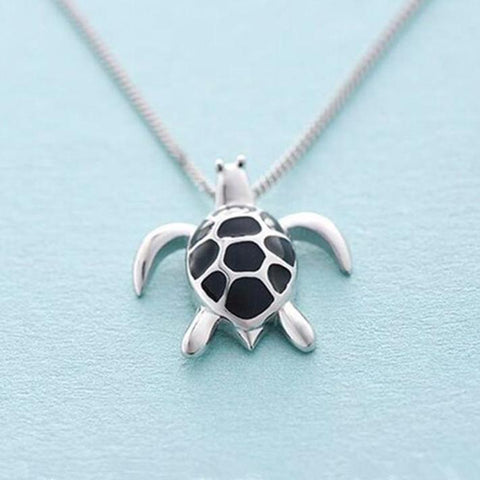 BEST SELLER : Collier Tortue en Argent